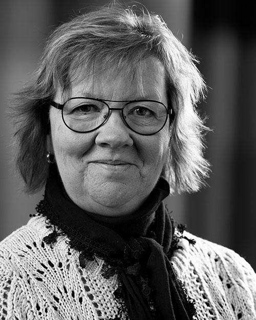 Ulrika Andersson, produktionsansvarig på Gardinfabriken.
